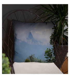 Throw Pillow Scenic view