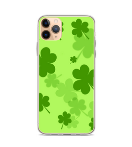 St Patricks Day Clover Shamrock Print Phone Case