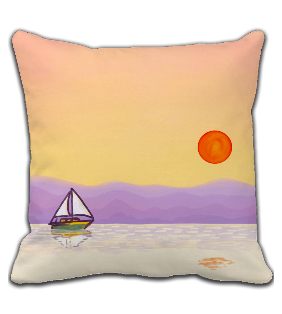 Throw Pillow Sail