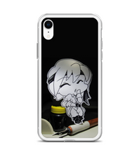 Chibi pirate japanese small character caribbean pirates ink pen anime manga small Phone Case