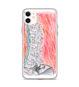 graffiti rio violent violence canvas paiting crayon cover illustration drawing draw color Phone Case