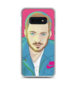 men comic art cyberpunk beauty Phone Case