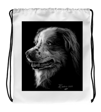Drawstring Gym Bag Lovedog