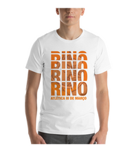 T-Shirt Rino Orange Written Style