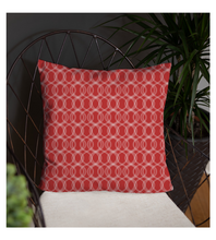 Throw Pillow zigzag pattern