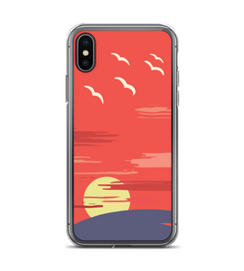 Sun Rise with Birds Phone Case Phone Case