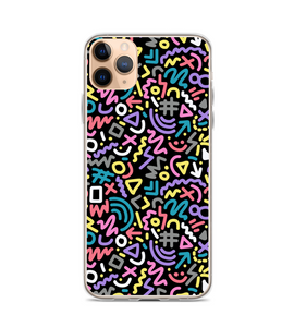 Nineties 90s Print Pattern Phone Case