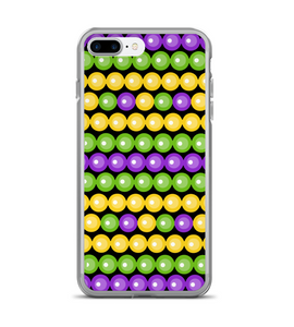 Mardi Gras Beads Color Print Phone Case
