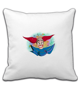 Throw Pillow Liaço  The clown.