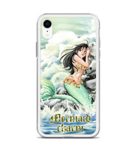 Marmeid Charm Cute Sereia Sirene sea mar rock pedras ondas wave Phone Case