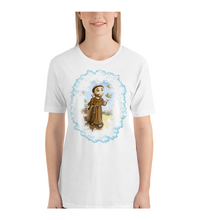 T-Shirt San Francisco Catholic drawing for children and adults in a colorful drawing
