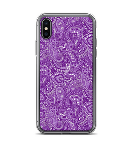 Paisley Purple Print Phone Case