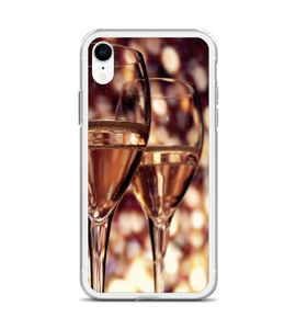 Champagne Glasses Vintage Phone Case
