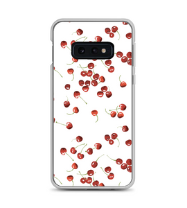 Cherry Fruit Print Pattern Phone Case
