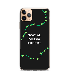 Vine Design Social Media Expert Black Phone Case Phone Case