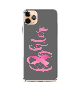 October Breast Cancer Awareness Fighter Phone Case