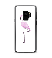 Glass_Flamingo Phone Case