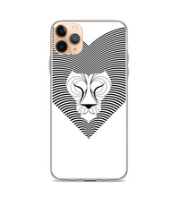 Op Art Lion animal africa beast geometric savannah Phone Case
