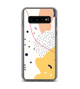 Organic Abstract Shapes Phone Case