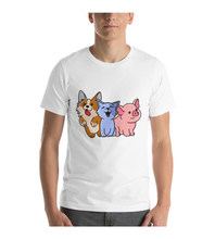 T-Shirt Pet lovers , dog, cat, pig cute t-shirt for merch and gift
