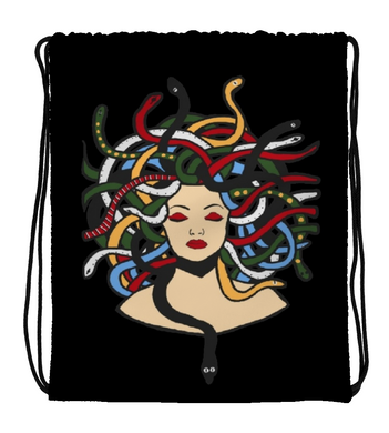 Drawstring Gym Bag Medusa