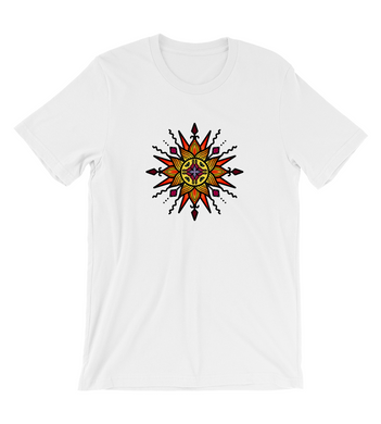 T-Shirt Sun inspired mystical mandala - ruling planet for 2020