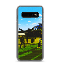 Aviation 1.0 airplane pilot grass sky sunset fly aviator aeronautics draw ilustration Phone Case