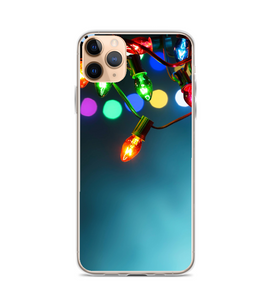 Christmas Lights Hanging Print Phone Case