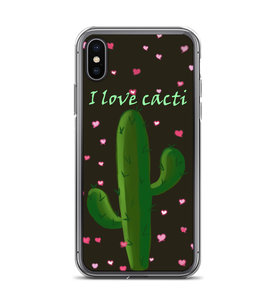 Good Vibration Cacti friends new year nature flower love green garden joy harmony Phone Case