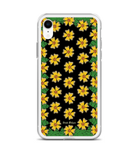 Flowers and Leaves! Art made by hand and finished digitally. Phone Case