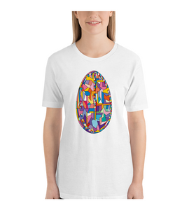 T-Shirt Easter egg geometric