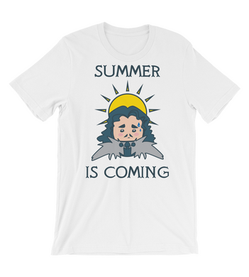 T-Shirt SUMMER IS COMING - Winter is coming MEME quote for HOT season