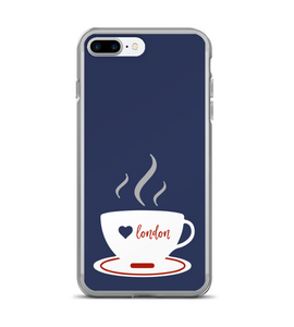 London Cup Tea Print Phone Case