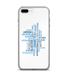 Diabetes Awareness Verbiage Phone Case