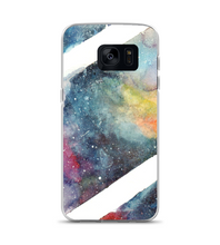 galaxy in water Phone Case