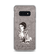 Porpentina Gowldstein - magic OWL with wand and in hat and coat Phone Case
