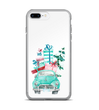 Christmas Vintage Truck With Presents Phone Case