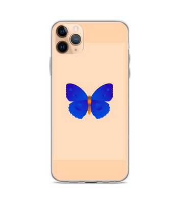 Butterfly case insect blue cute Phone Case