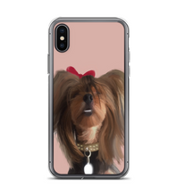 Cutest smiling dog ever! Yorkie pet lovers! Phone Case