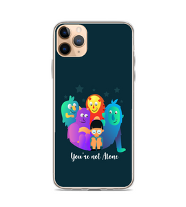 you're not alone boy. your imaginary friends will stay with you Phone Case