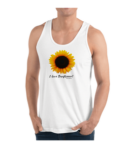 Tank Top I love Sunflower!