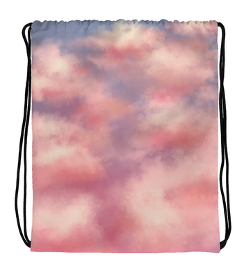 Drawstring Gym Bag Sky