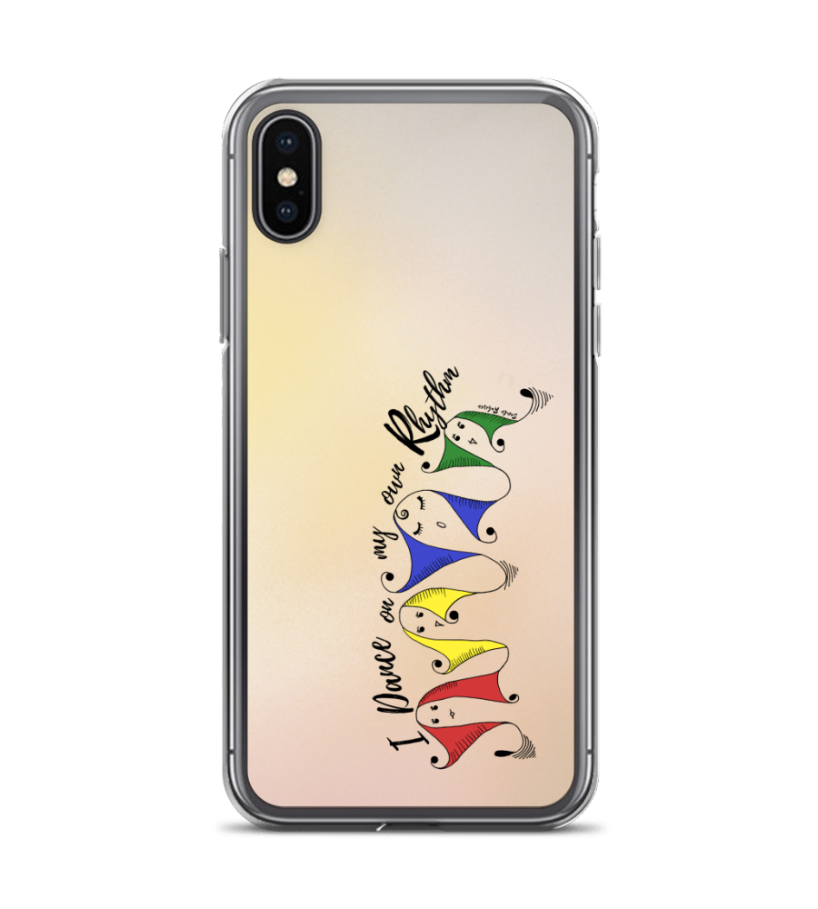 I dance on my own rhythm! -  Art made by hand and digitally finished. Phone Case