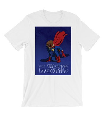 T-Shirt comic Style superhero