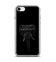 Elephant. Scribble art. Drawing. Realistic. Phone Case