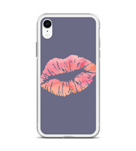 Kiss Lips Watercolor Print Phone Case