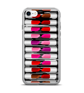 Lipstick Kiss Makeup Pattern Phone Case