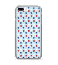 Patriotic Star July 4th Print Phone Case