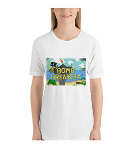 T-Shirt cartoon comic bomb weapon soldier military cover illustration drawing draw color colored war