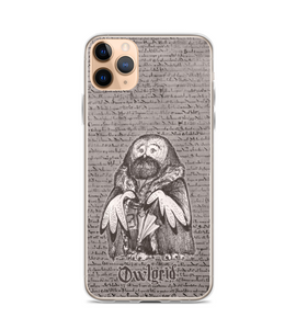 Rubeus Owlgrid - magic OWL with magic umbrella in coat Phone Case